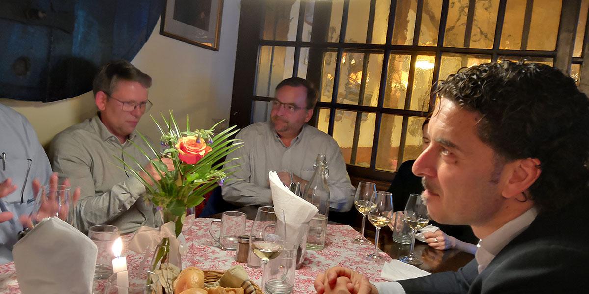 Dinner at Heuriger Wine Tavern